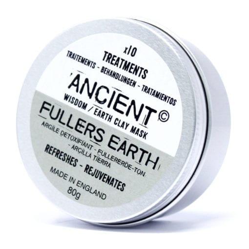 112154-1 Ansiktsmask Fuller's Earth Lera 80 gram - Ancient Wisdom