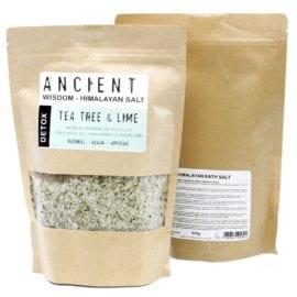 Badsalt Detox Från Himalaya Med Eteriska Oljor För Aromaterapi 500 gram - Ancient Wisdom