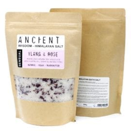 112158 Badsalt Sensual Himalaya Med Eteriska Oljor För Aromaterapi 500 gram - Ancient Wisdom