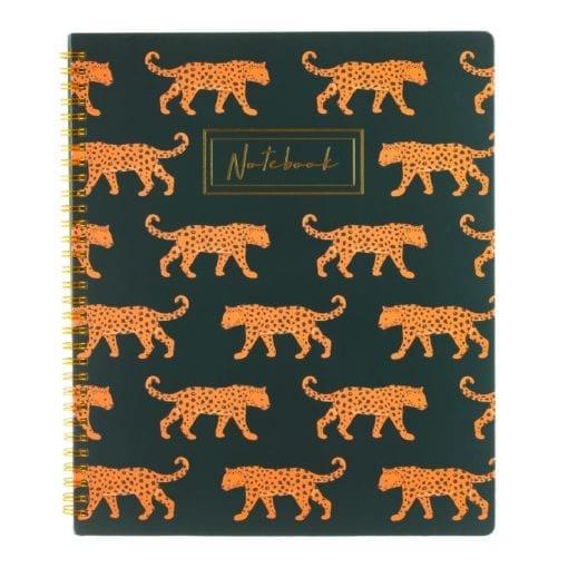 112168 Anteckningsbok A4 Leopard Love