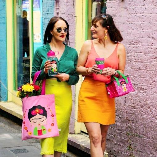 112177-1 Shoppingväska Tote Bag Frida Kahlo