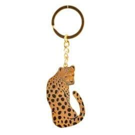 112179 Nyckelring Leopard Love