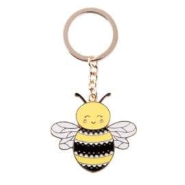 112180-1 Nyckelring Bee Happy