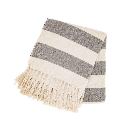 112187 Pläd Stripe Scandi Boho