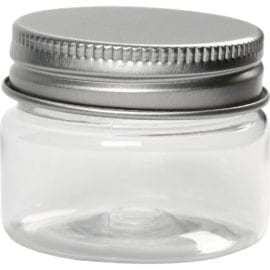 112198 Plastburk Med Skruvlock I Metall 35 ml 10-pack