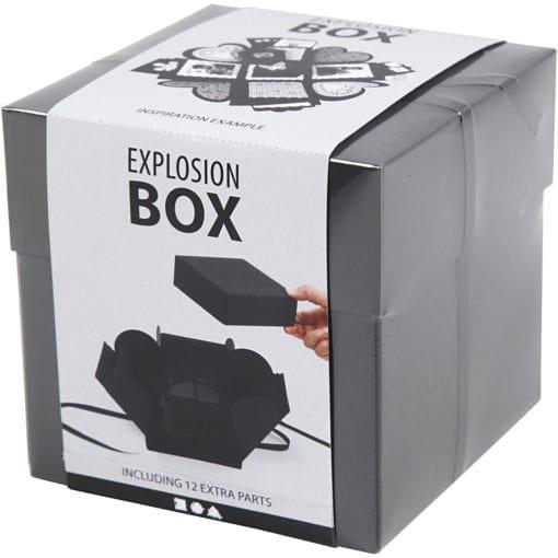 112213-1 Presentask Explosion Box Svart