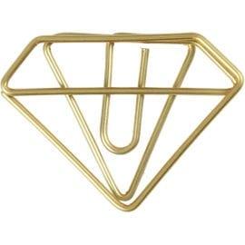 112227 Metallgem Diamant Guld 6-pack