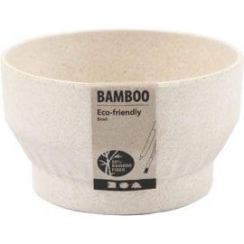112229 Skål Plissémönster Tillverkad av Bambufiber