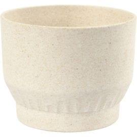 112230-1 Skål Bambufiber med Plissémönster 9 cm
