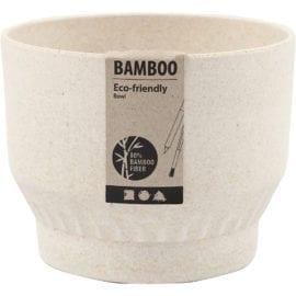 112230 Skål Bambufiber med Plissémönster 9 cm