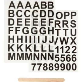 112231 Stickers Rub-on Bokstäver & Siffror