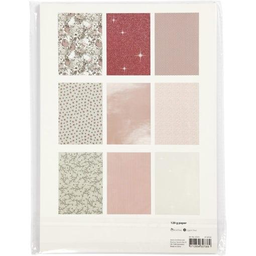 112249-2 Vivi Gade Design Paper Pad Blomma 24 Ark 120 g