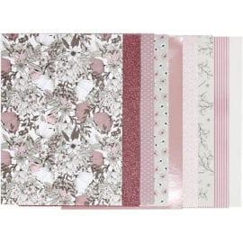 112249 Vivi Gade Design Paper Pad Blomma 24 Ark 120 g