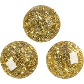 112255 Självhäftande Rhinestones Guld