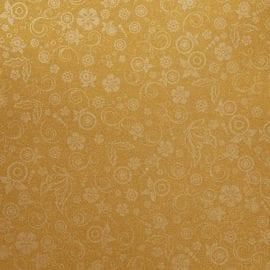 112266 Blankt Papper Guld Mönster I Silvertryck 20 A4-ark 80 g