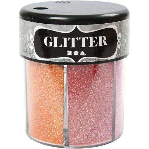 112293-2 Glitter 2 Mixade Färger 6x13 g
