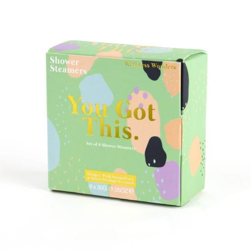 112307-1 Duschbomber Shower Steamers You Got This 8-pack