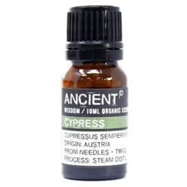 112149-5 Ekologiska Eteriska Oljor för Aromaterapi 10 ml - Ancient Wisdom Cypress