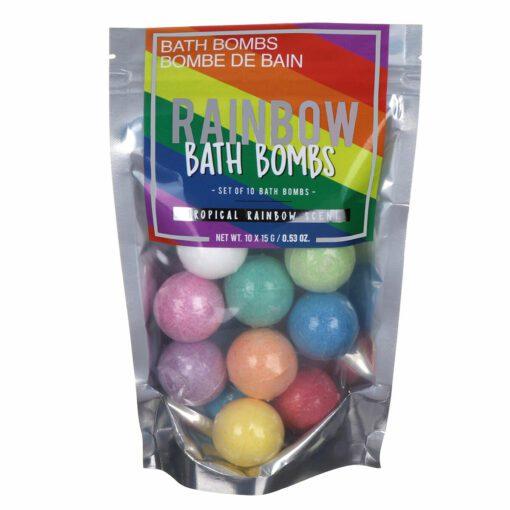 Gift Republic Badbomber Rainbow Med Doft Av Tropisk Frukt 10-Pack
