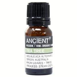 112149-19 Ekologiska Eteriska Oljor för Aromaterapi 10 ml - Ancient Wisdom Tea Tree