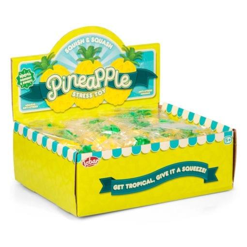 112332-2 Stressboll Ananas