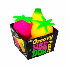 112334-6 Schylling Stressbollar Fruktkorg Nee-Doh Groovy Fruits