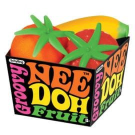 112334 Stressbollar Fruktkorg Nee-Doh Groovy Fruits
