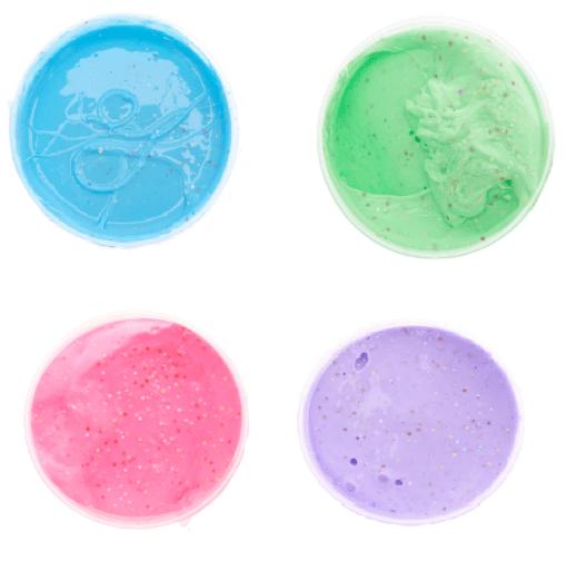 112336-6 Stort Fluffy Slime Med Strösselkonfetti