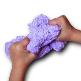 112337-4 Stort Fluffy Slime Med Styrolitkulor