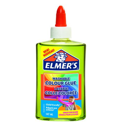 112356-1 Elmer's Genomskinlig Färg 147 ml PVA Lim Till Slime