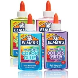 112356 Elmer's Genomskinlig Färg 147 ml PVA Lim Till Slime