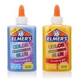 112362 Elmer's Färgskiftande UV 147 ml PVA Lim Till Slime