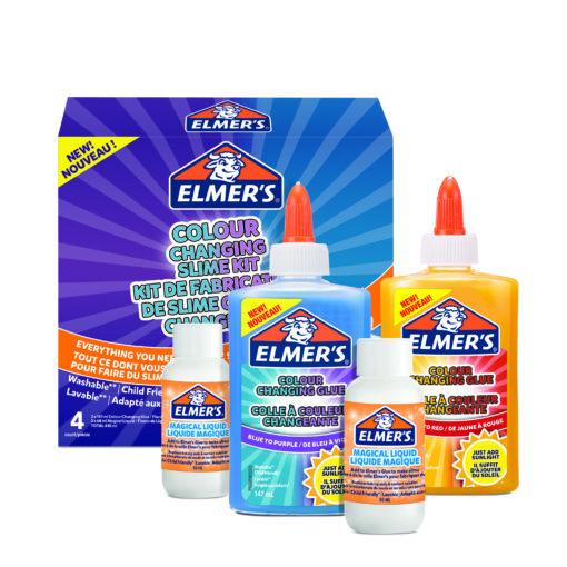 112364 Elmer's Färgskiftande UV Slime Kit1