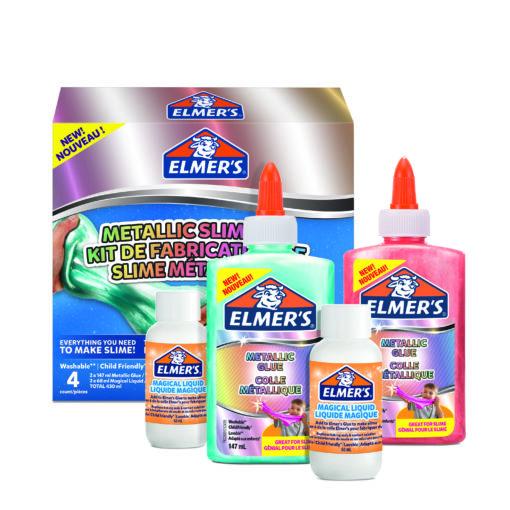 112365 Elmer's Metallic Färg Slime Kit
