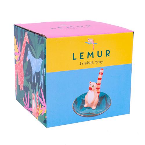112374-3 Smyckesfat Lemur