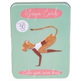 112379 Träningskort Character Yoga Cards