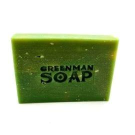 112380-4 Greenman Tvål Citron & Basilika 100 g