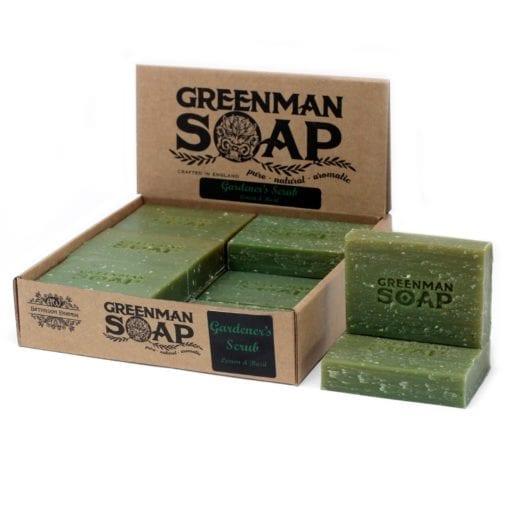 112380 Greenman Tvål Citron & Basilika 100 g