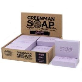 112382 Tvål Greenman Night Time Lavendel & Pelargonia 100 g
