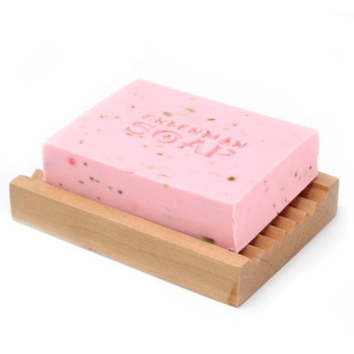 112385-2 Tvål Greenman Bath Bar Deluxe Rosenträ & Ylang 100 g