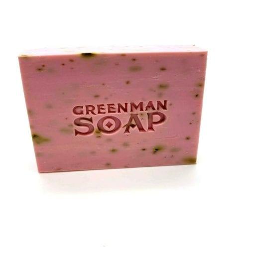 112385-4 Tvål Greenman Bath Bar Deluxe Rosenträ & Ylang 100 g