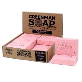 112385 Tvål Greenman Bath Bar Deluxe Rosenträ & Ylang 100 g