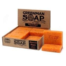 112387 Tvål Greenman Morrocan Argan Argan & Rosmarin 100 g