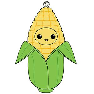 112398-2 Big Squishable Comfort Food Corn - 38 cm