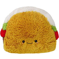 112399-1 Mini Squishable Comfort Food Taco - 18 cm
