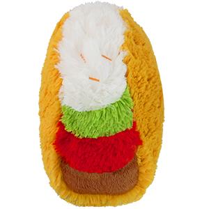 112399-2 Mini Squishable Comfort Food Taco - 18 cm