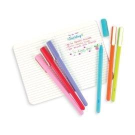 112406 OOLY Gelpennor Modern Writers Gel Pens - Set om 6