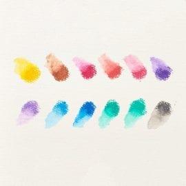 112408-3 OOLY Gelkritor Rainbow Sparkle Watercolor Gel Crayons - Set om 12