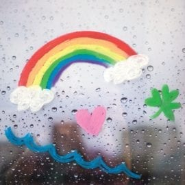112409-3 OOLY Gelkritor Rainy Dayz Gel Crayons - Set om 12