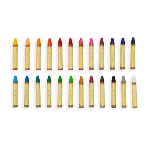 112411-3 OOLY Vaxkritor Brilliant Bee Crayons - Set om 24